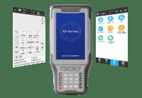Λογισμικό χειριστηρίου για δέκτες GNSS e-survey SurPad 4.0
